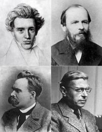 Kierkegaard-Dostoyevsky-Nietzsche-Sartre -- Existential Philosophers
