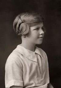 Venetia Burney -age 11-1929