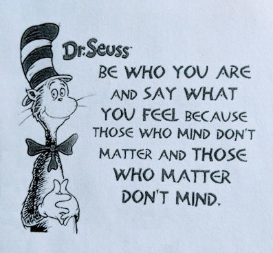 Dr. Seuss - Be Yourself